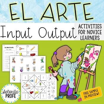 El Arte / Spanish Art Class Bundle