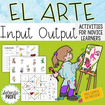 El Arte / Spanish Art Class Unit