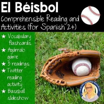 El Béisbol Resource Packet (level 2 and up)