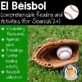 El Béisbol Reading Resource Packet (level 2 and up)