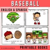 El Béisbol - Spanish & English Emergent Reader (Baseball)