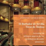 """AP Spanish Literature """"El Burlador de Sevilla"""" personajes y simbolismos"""