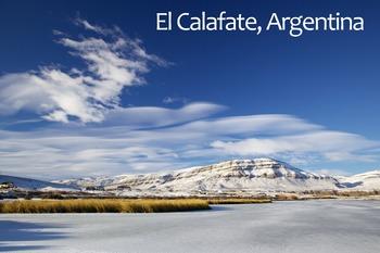 El Calafate, Argentina Poster: Digital Download