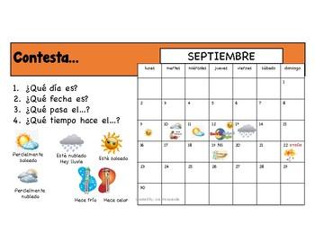 El Calendario 2018-2019