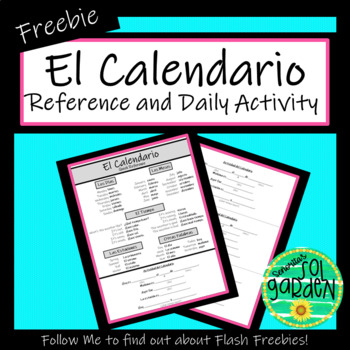 El Calendario - Daily Calendar Activity and Quick Reference
