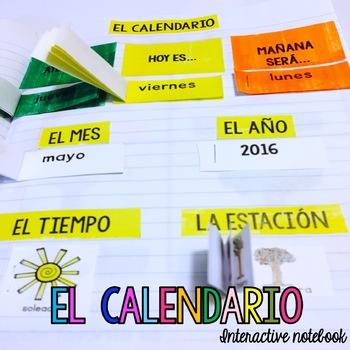 El Calendario {Interactive Notebook}