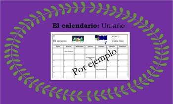 El Calendario (Un Año) - Creating a Year Long, Personal Ca