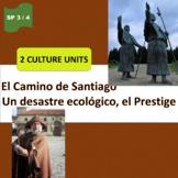 El Camino de Santiago (1),El Prestige (2), Galicia - SP Intermediate 2