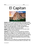 El Capitan - rock formation review article facts information questions lesson