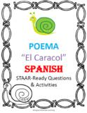 Español El Caracol Poema - Poetry in Spanish