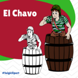 El Chavo del Ocho Clipart for Spanish Lessons