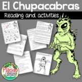 El Chupacabras Reading & Activities