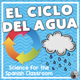 El Ciclo del Agua (Water Cycle) Activities in Spanish