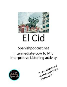 El Cid Interpretive Listening Activity
