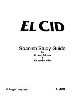 El Cid-Spanish Study Guide