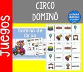 El Circo, Dominó | pack de juegos| Spanish Resources