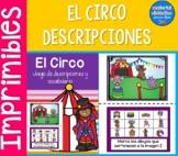 El Circo, descripciones | Pack de actividades | Spanish Resources