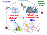 El Clima / Weather in Spanish