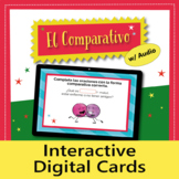 El Comparativo: Digital Task Cards, Boom Cards, Distance Learning