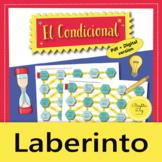 El Condicional Simple – Maze Practice Activity with Digital Version, Spanish