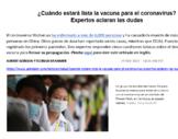 El Coronavirus - AP Spanish - Ciencia y Tecnología - Lectu