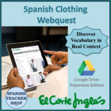 El Corte Ingles Digital Webquest on Google Doc