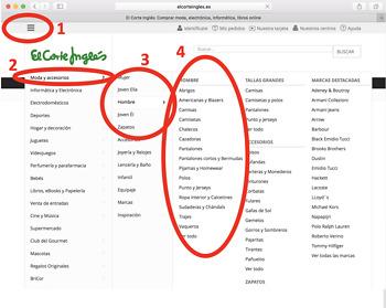 El Corte Ingles Digital Webquest on Google Doc