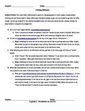 El Corte Ingles Webquest - Spanish clothing and colors