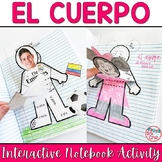 Spanish Interactive Notebook Activity:  El Cuerpo