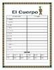 """El Cuerpo- Label """"El Monstruo""""- Spanish Body Parts & Word Search & Puzzle"""