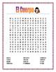 """El Cuerpo- Label """"La Brujita""""- Spanish Body Parts -Word Search/ Puzzle-Halloween"""