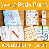 El Cuerpo Spanish Body Parts Vocabulary Bundle
