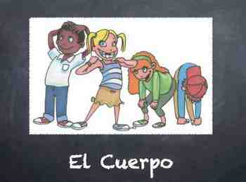 El Cuerpo - Spanish Body and Commands Week Unit