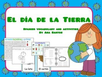 El Día de la Tierra - Spanish activities