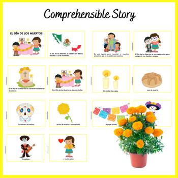 El Día de los Muertos {Story & Coloring Book}