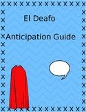 El Deafo Anticipation Guide