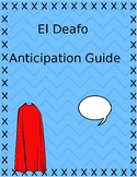 El Deafo Anticipation Guide