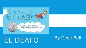 El Deafo Slide Show - Brief Intro for Elementary Students