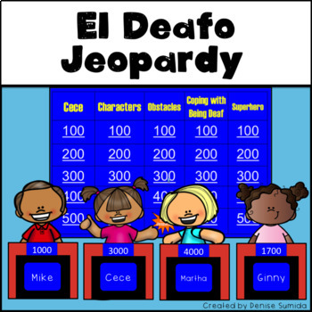 El Deafo by Cece Bell Jeopardy