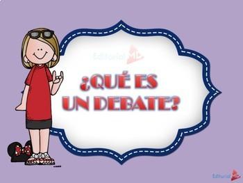 El Debate y sus Caracteristicas