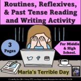 El Dia Terrible de Maria A Bad day Story -Routines, reflex
