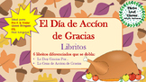 El Dia de Accion de Gracias Spanish Thanksgiving Mini Book