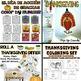 El Día de Acción de Gracias / Thanksgiving Big Bundle
