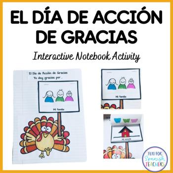 El Día de Acción de Gracias / Thanksgiving Writing Activity