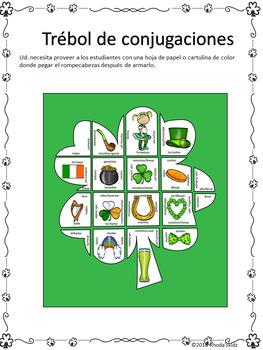 El Día de San Patricio -Rompecabezas-Presente Subjuntivo