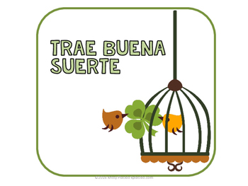 El Dia de San Patricio / St. Patrick's Day Colorful Spanish Bulletin Board Set!