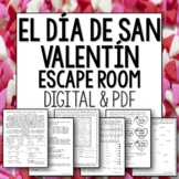 El Dia de San Valentin Break Out Room Spanish Escape for V
