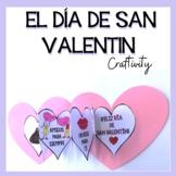 Spanish Valentine's Day: El Día de San Valentín {Craftivity}
