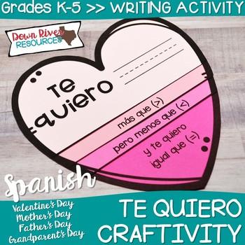 El Dia de la Padre Craftivity   Spanish Father's Day Craftivity