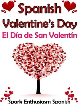 el dia de san valentin spanish valentines day book 47 pages - San Valentine Day